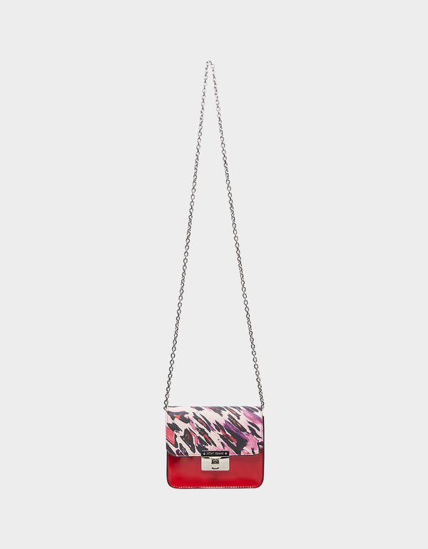 WILD ABOUT IT CROSSBODY PURPLE MULTI - HANDBAGS - Betsey Johnson