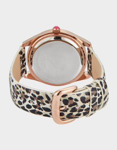 WILD BETSEY WATCH LEOPARD