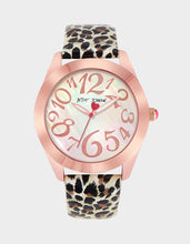 WILD BETSEY WATCH LEOPARD - JEWELRY - Betsey Johnson