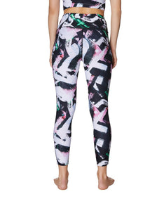 WILD BRUSH STROKE LEGGINGS MULTI