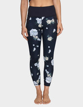 WILD FLOWER LEGGING BLACK-WHITE - APPAREL - Betsey Johnson