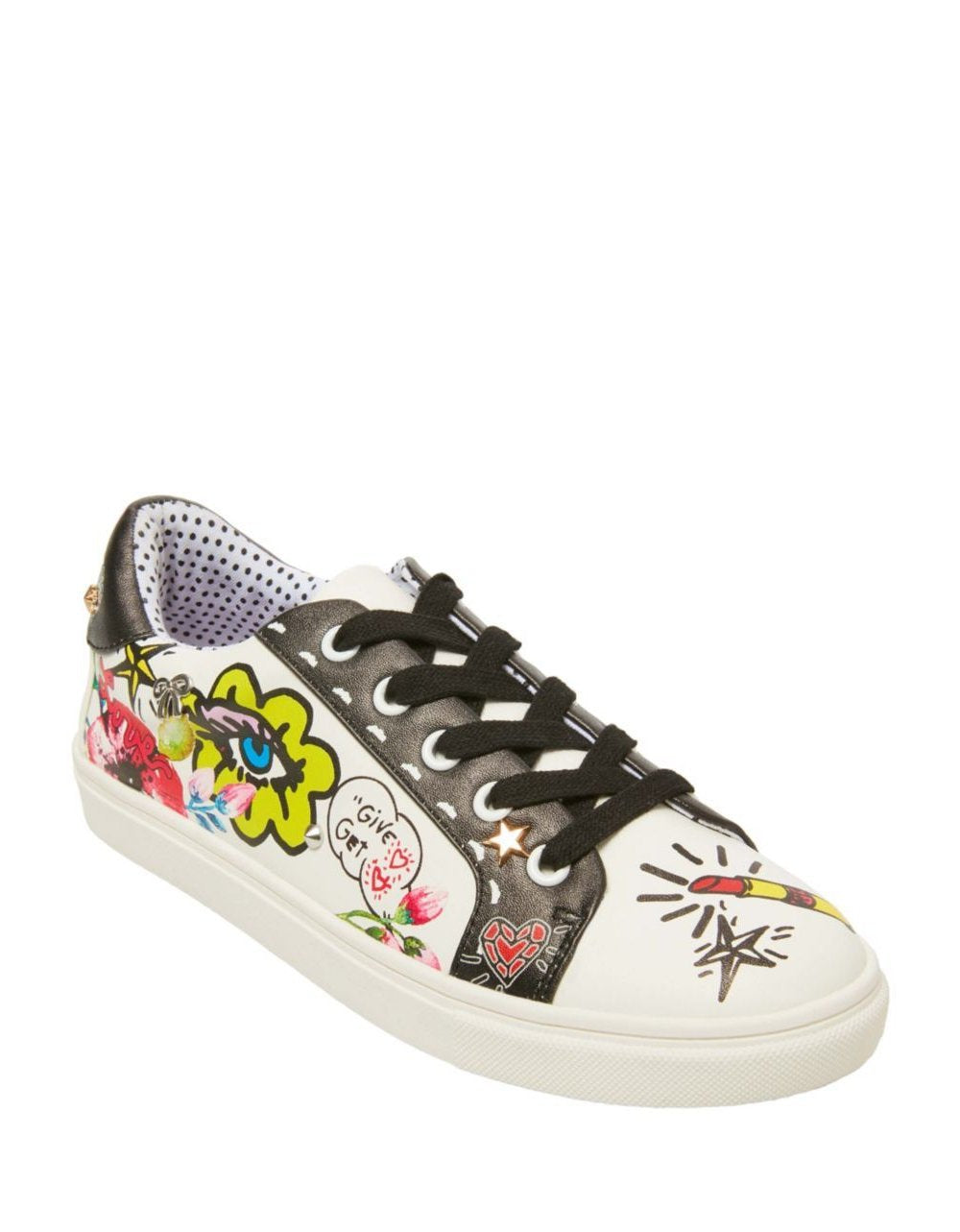 WILLOW WHITE MULTI - SHOES - Betsey Johnson