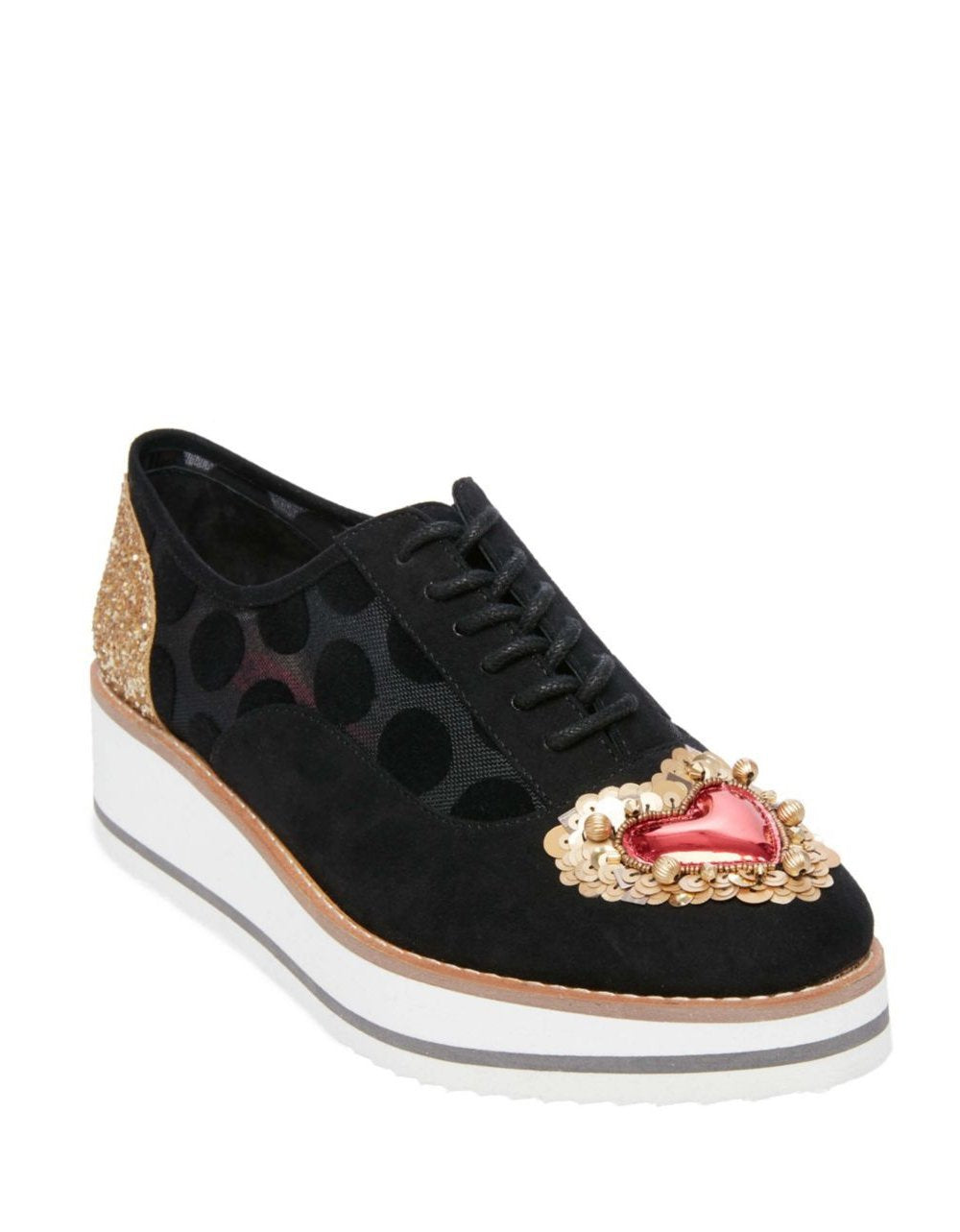 WINNIE BLACK MULTI - SHOES - Betsey Johnson