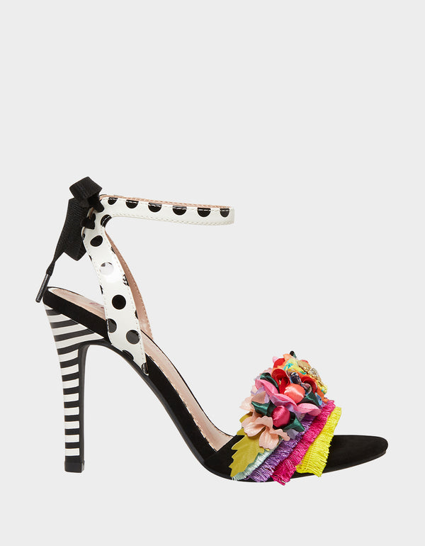 WYCKER BLACK MULTI - SHOES - Betsey Johnson