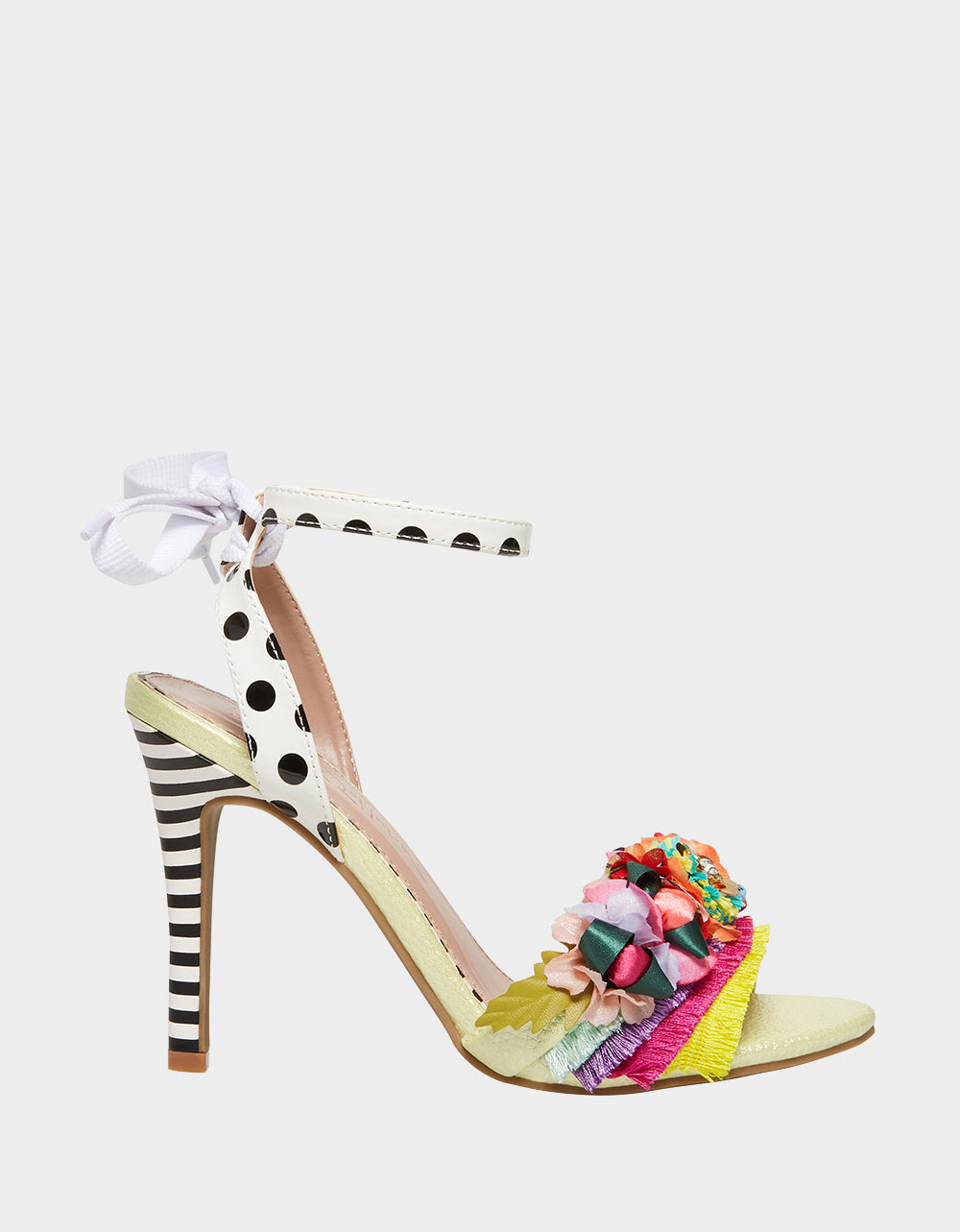 WYCKER YELLOW MULTI - SHOES - Betsey Johnson