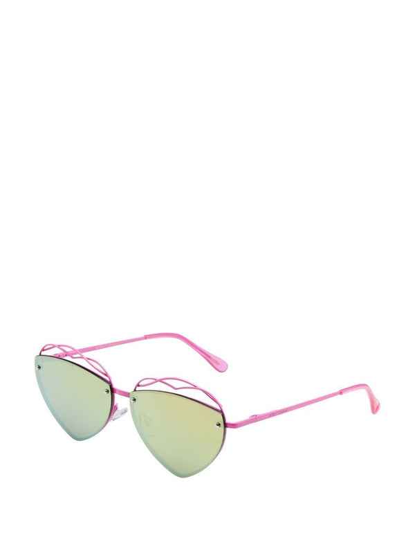 YOU STOLE MY HEART SUNGLASSES PINK - ACCESSORIES - Betsey Johnson