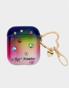 GIFTY BETSEY BLING AIRPOD CASE MULTI