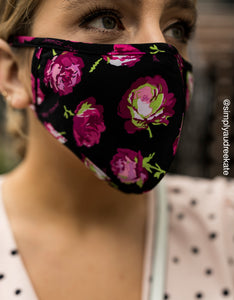 FASHION FACE MASK SET PINK MULTI