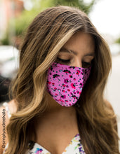 FASHION FACE MASK SET PINK MULTI - ACCESSORIES - Betsey Johnson