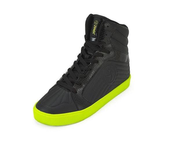 Zumba Street Groove Shoes - Black A1F00074 size 5