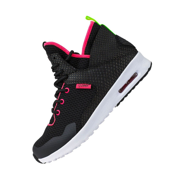 Zumba Air Classic Remix Shoes - Black/Coral A1F00098 size 11