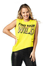 Zumba Find Your Wild Tank - 2 Colors Z1T02209