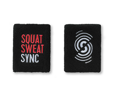 Strong by Zumba Squat Sweat Sync Wristbands 2pk - A0A00840