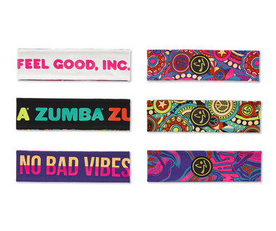 Zumba Groovy Reversible Headbands 3pk - A0A01008