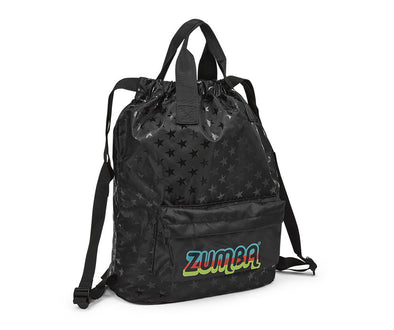 Zumba Feel Good Dance Good 2-Way Bag - Bold Black A0A01009
