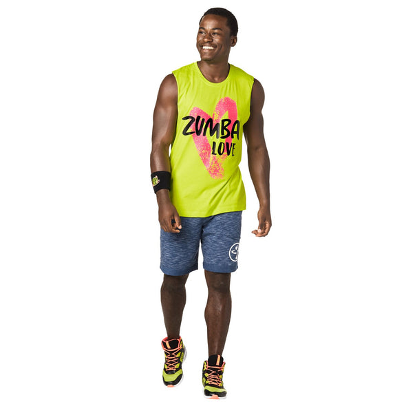 Zumba Unisex Love Muscle Tanks - Choose Color A0A01027