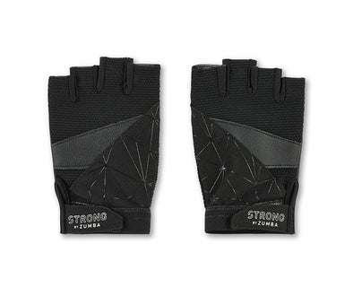 Strong by Zumba Rep After Rep Gloves - Bold Black A0A01055