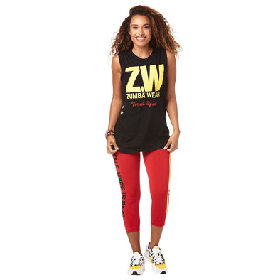 Zumba Unisex For All Muscle Tank - Choose Color/Size A0A01087