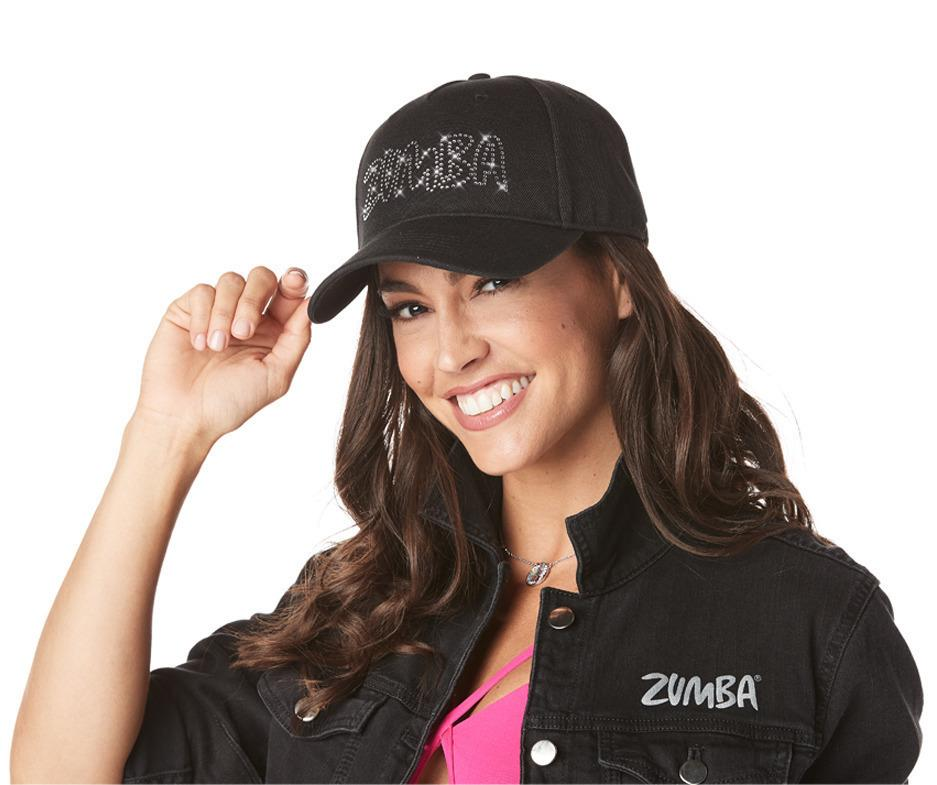 Zumba Adjustable Hat with Swarovski Crystals - A0A01120