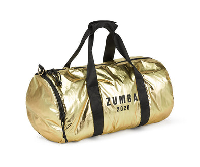 Zumba Dance League Metallic Duffle Bag - Gold A0A01170