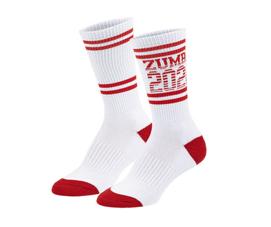 Zumba 2020 High Socks - Wear It Out White A0A01211