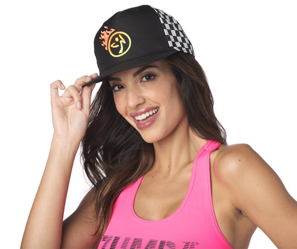 Zumba Better Faster Snapback Hat - A0A01222