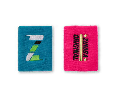 Zumba Original Wristbands 2pk - A0A01227