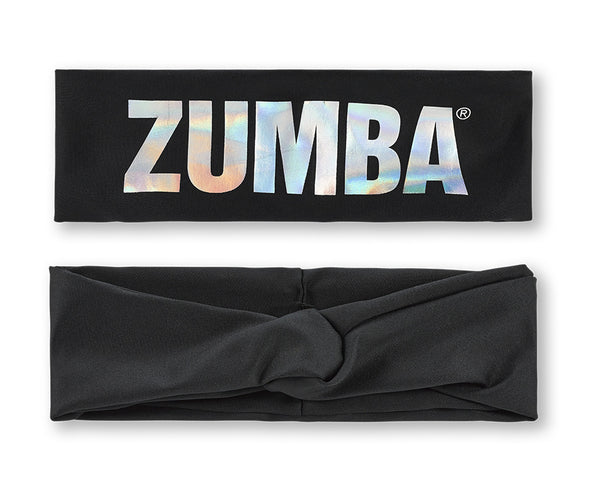 Zumba Vibes Twisted Headband - Bold Black A0A01328