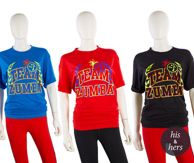 Zumba Team Zumba Tees - 12 Pack A0A01332