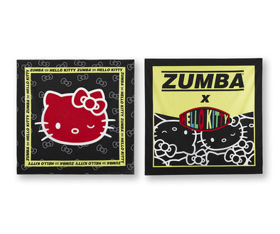 Zumba X Hello Kitty Bandana 2 PK - A0A01389