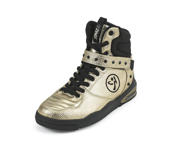 Zumba Court Air Shoes - Gold A1F00124