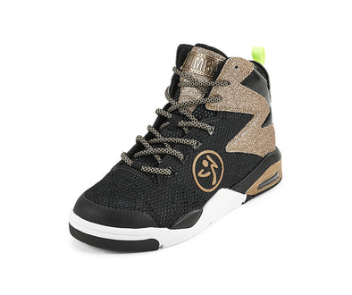 Zumba Air Shimmer Glitter Shoes - Gold A1F00134