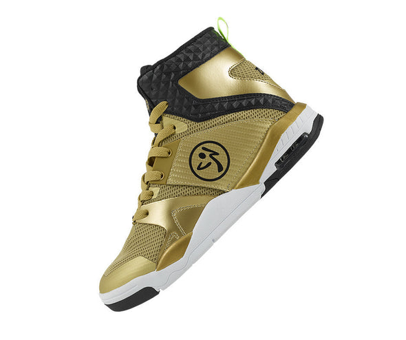 Zumba Air Stud Shoes - Gold A1F00142