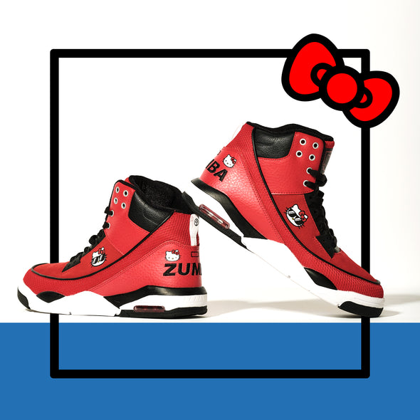 Zumba X Hello Kitty Air High Shoes - Red A1F00163