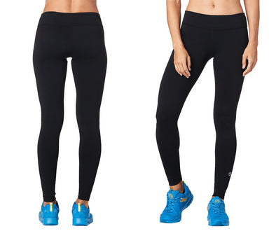 Zumba Perfect Long Leggings - Bold Black Z1B00603