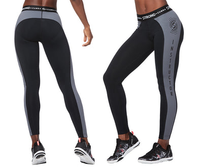 STRONG by ZUMBA Feel Every Beat Instructor Ankle Leggings - Bold Black Z1B00752