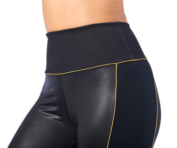 Zumba 2020 Panel Crop Leggings - Bold Black Z1B00963