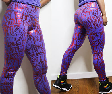 Zumba Rhythms Long Leggings - 2 Colors Z1B01031
