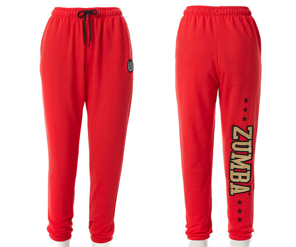 Zumba All Stars Baggy Sweatpants - Really Red-y Z1B01034
