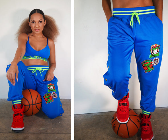Zumba Game On Track Pants - 2 Colors Z1B01035