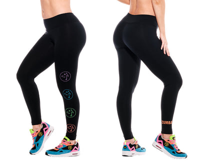 Zumba Zumbito Ankle Leggings With Swarovski Crystals - Z1B01133