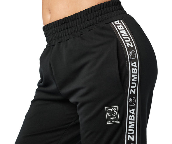 Zumba X Hello Kitty Track Pants - Bold Black Z1B01153