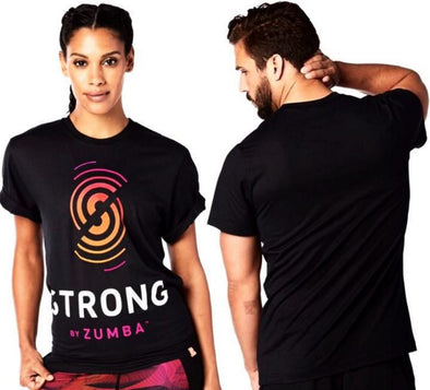 STRONG by Zumba Unisex Graphic Tee - Z1S00049 XL/2XL