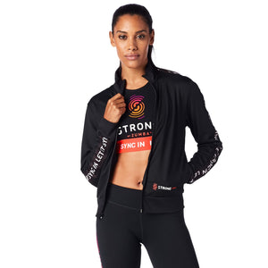STRONG by Zumba Instructor Track Jacket - Back to Black Z1S00064