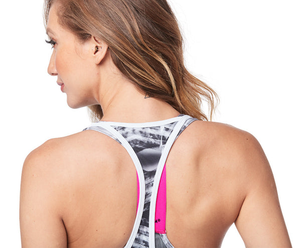 STRONG by Zumba Feel Every Beat Tank - Wear It Out White Z1T01515