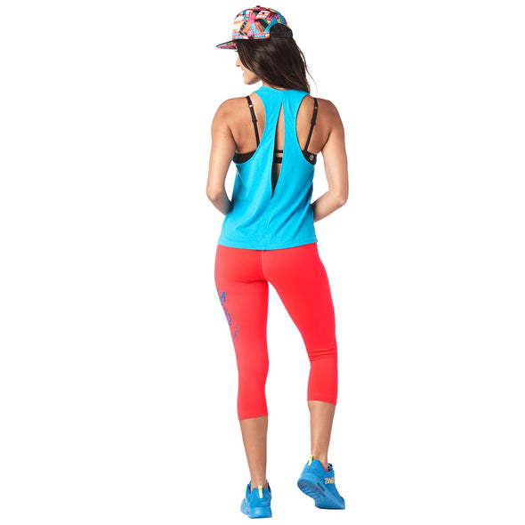 Zumba Roar Tank Top - Bangin Blue Z1T01577