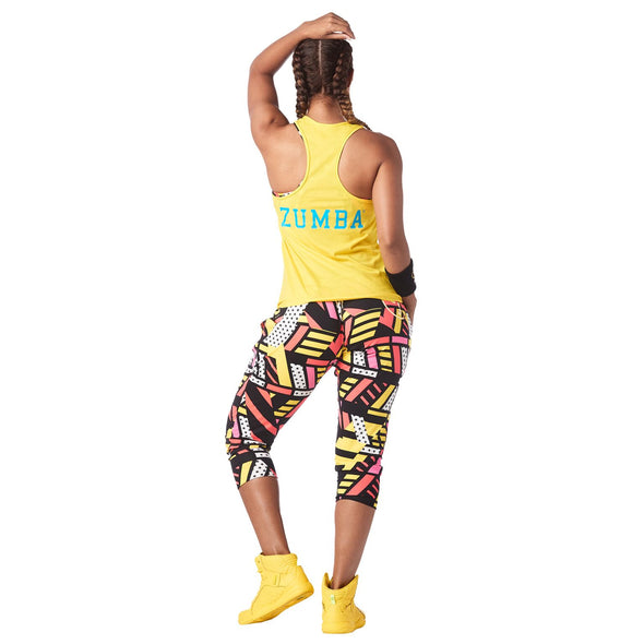 Zumba Happiness Hustler Tank - Sunrays Z1T01591