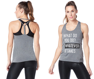 Strong by Zumba What It Takes Tank - Outerspace Z1T01620