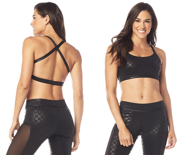 Zumba Courage Scoop Bra - Bold Black Z1T01775 XS