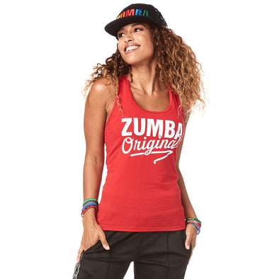 Zumba Original Instructor Racerback Top - Viva La Red Z1T01799